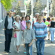 Family at town — Stock Photo #47819737