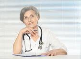 Vedoucí lékař — Stock fotografie