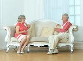 Vacker äldre par — Stockfoto
