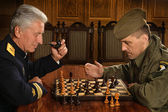 Military mature general — Stock Photo