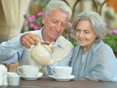 Old couple — Stock Photo