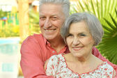 Nice old people — Stock Photo