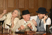Gangsters companions — Stock Photo