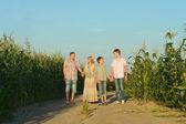 Rodinné procházky — Stock fotografie