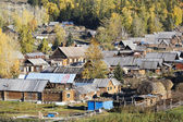 Xinjiang, china: baihaba village — Stock Photo