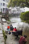 Jiangxi, Çin: küçük bir köy — Stok fotoğraf