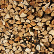 Stack of wood — Stock Photo