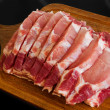 Stock Photo: Fresh pork meat
