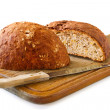 Stock Photo: Bread and knife