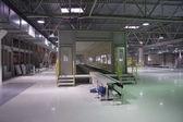 Interior da fábrica — Foto Stock