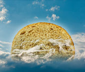 Bread in the sky — Stock Photo