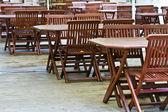 Restaurant empty — Stock Photo