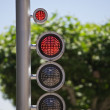 Street traffic light - Stock Photo