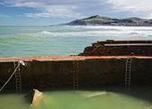 Pomost uszkodzony — Zdjęcie stockowe