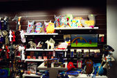Colourful souvenirs and gifts — 图库照片
