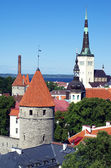 Hictoric center of Tallinn — Stock Photo