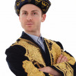 Royalty-Free Stock Photo: Young handsome man in typical Kazak dress
