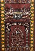 Moslim tapijt voor bidden seccade — Stockfoto