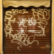 Royalty-Free Stock Photo: Graffiti Doors in Rome