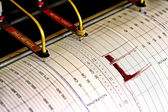 Seismograph for drilling — Stock Photo