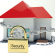 Foto Stock: House under protection