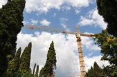 Construction site — Zdjęcie stockowe