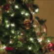 Stock Video: Christmas tree