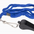 Stock Photo: Coaches Whistle