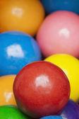 Multi-colored gumballs — Stock Photo