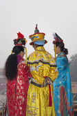 Women in Traditional Chinese Clothing — Stockfoto