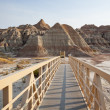 Badlands Walkway — Foto de Stock