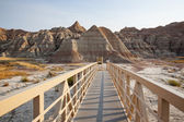 Badlands Walkway — Stock Photo