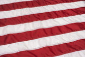 Red and White Stripes on American Flag — Stock Photo