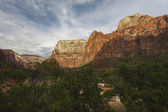 Cliffs of Zion National Park in Utah — Stock Photo