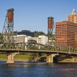 Portland Skyline — Stock Photo