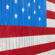 Stock Photo: Painted American Flag