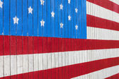 Painted American Flag — Stock Photo