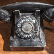 Antique Rotary Telephone — Stock Photo
