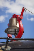 Bell on Steam Engine — Stock Photo