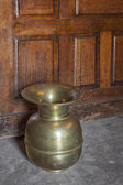 Spittoon on Saloon Floor — Stock Photo