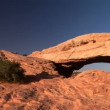 Canyonlands National Park, Mesa Arch — Stock Video