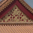 Stock Video: Chinese Palace Rooftop