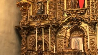 Baroque Retablo — Video Stock