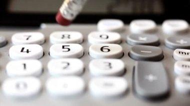 Check writing — Stock Video #34319389