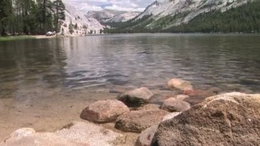 Tenaya Lake — Stock Video
