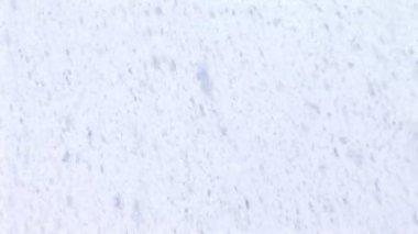 Snow texture — Stock Video