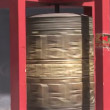 Stock Video: Prayer Wheel Spinning