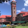 Stock Video: Train Station
