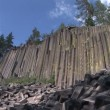 Top View of Devils Postpile — Vídeo de stock