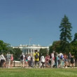 White House, time lapse — Stock Video